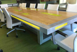 led conference table2_72_7in